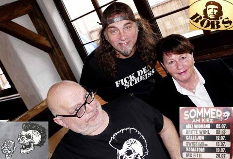 Arno Löb, Bob und Hannelore Köppl (ARGE Oberhausen)
