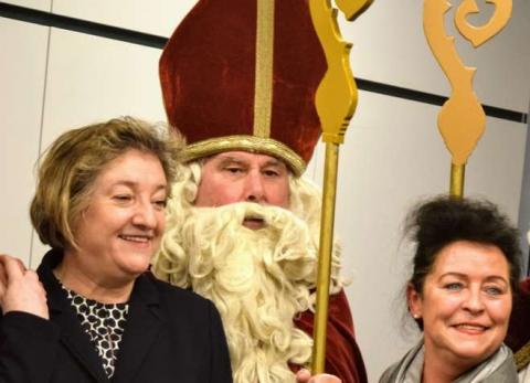Woher kommt der Nikolaus ? Von der Arbeitsagentur Augsburg in Bayern